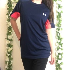 🌿 Under Armour Fitted Short Sleeve Shirt